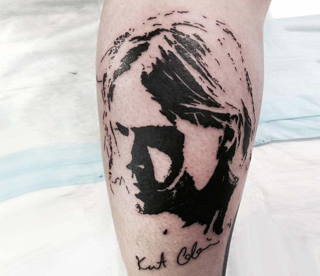 Kurt Cobain Tattoo By Adams Eden Tattoos Photo 25729