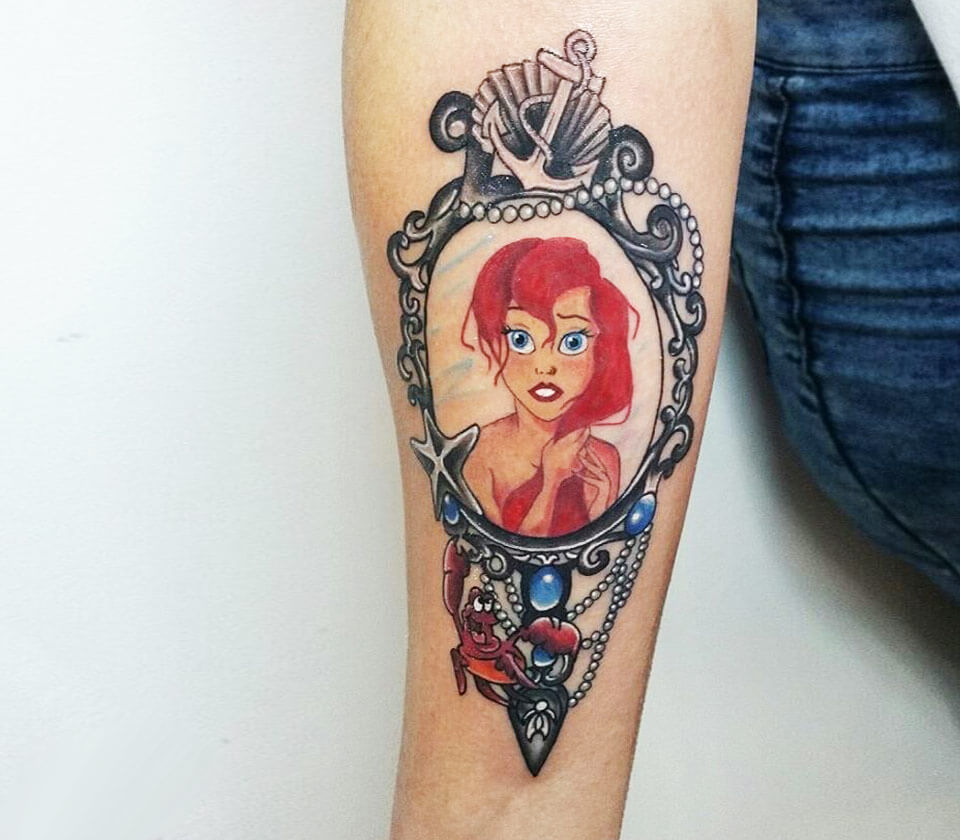 Ariel The Little Mermaid tattoo by Andrea Morales   Photo 17628