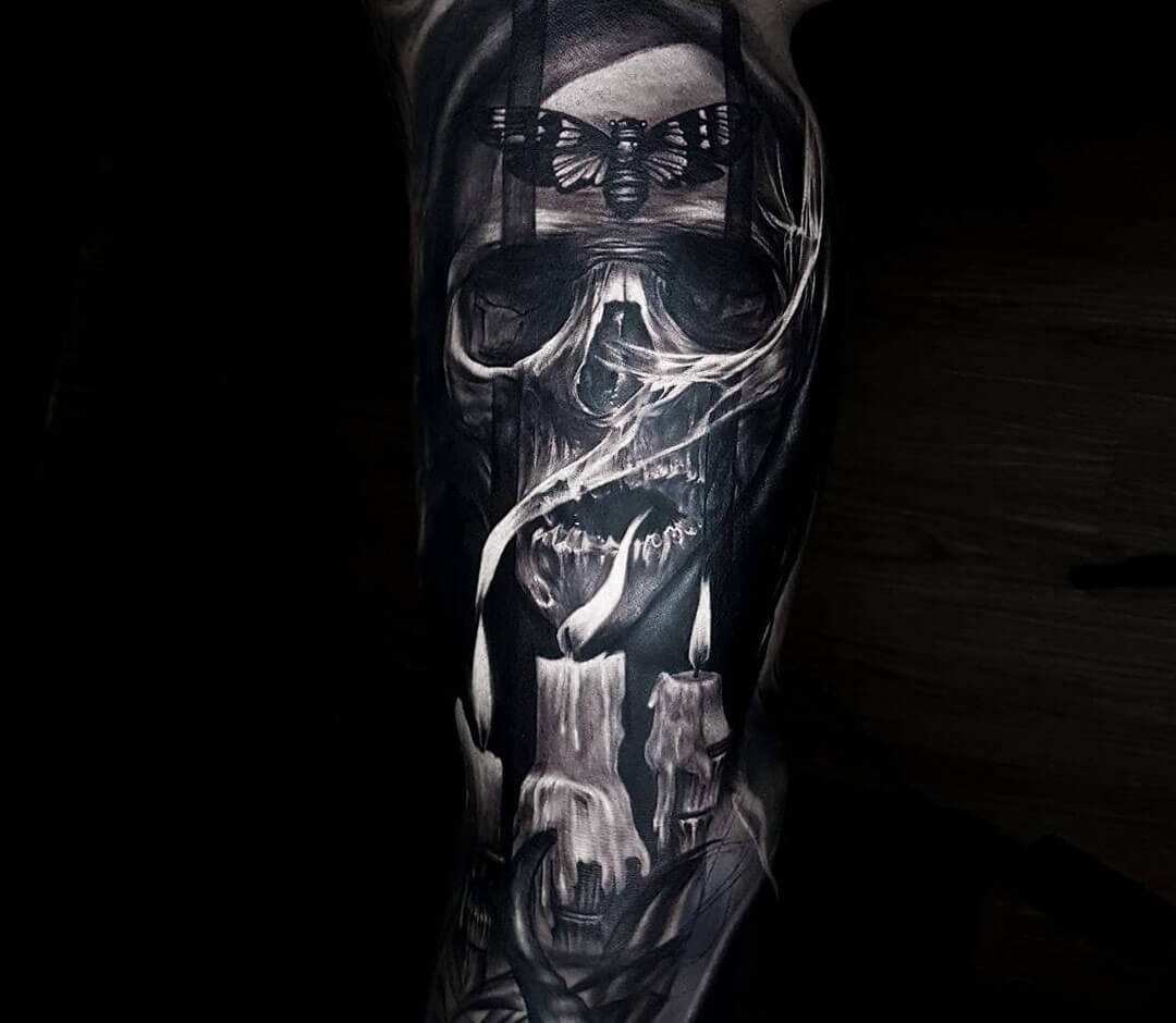 Grim Reaper Tattoo By Ata Ink Photo 27712