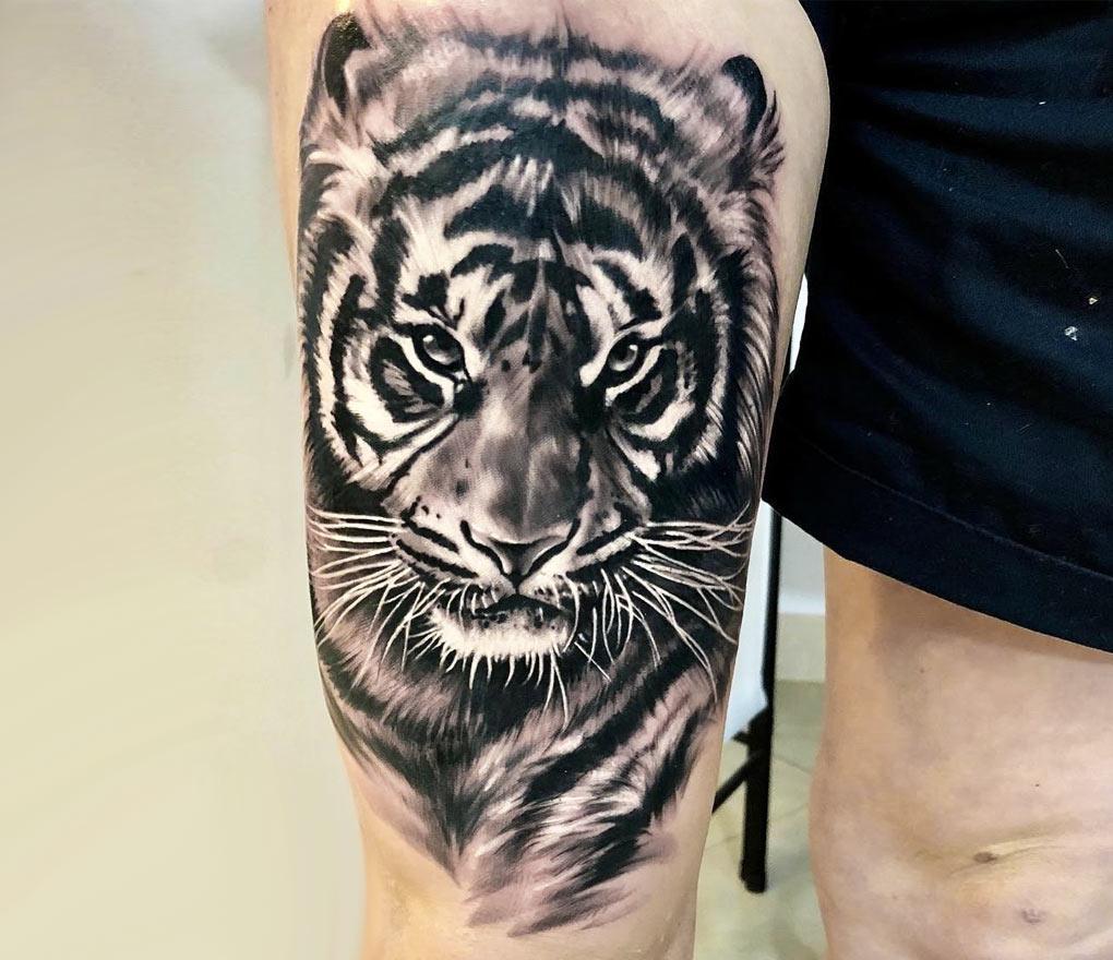 Tiger Tattoo By Bejt Tattoo Photo 21700
