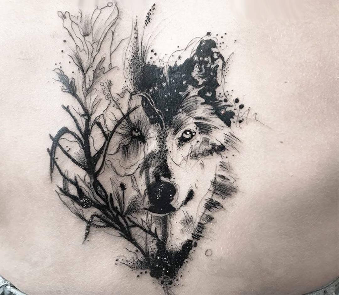 Wolf Tattoo By Darek Tattoo Photo 22440