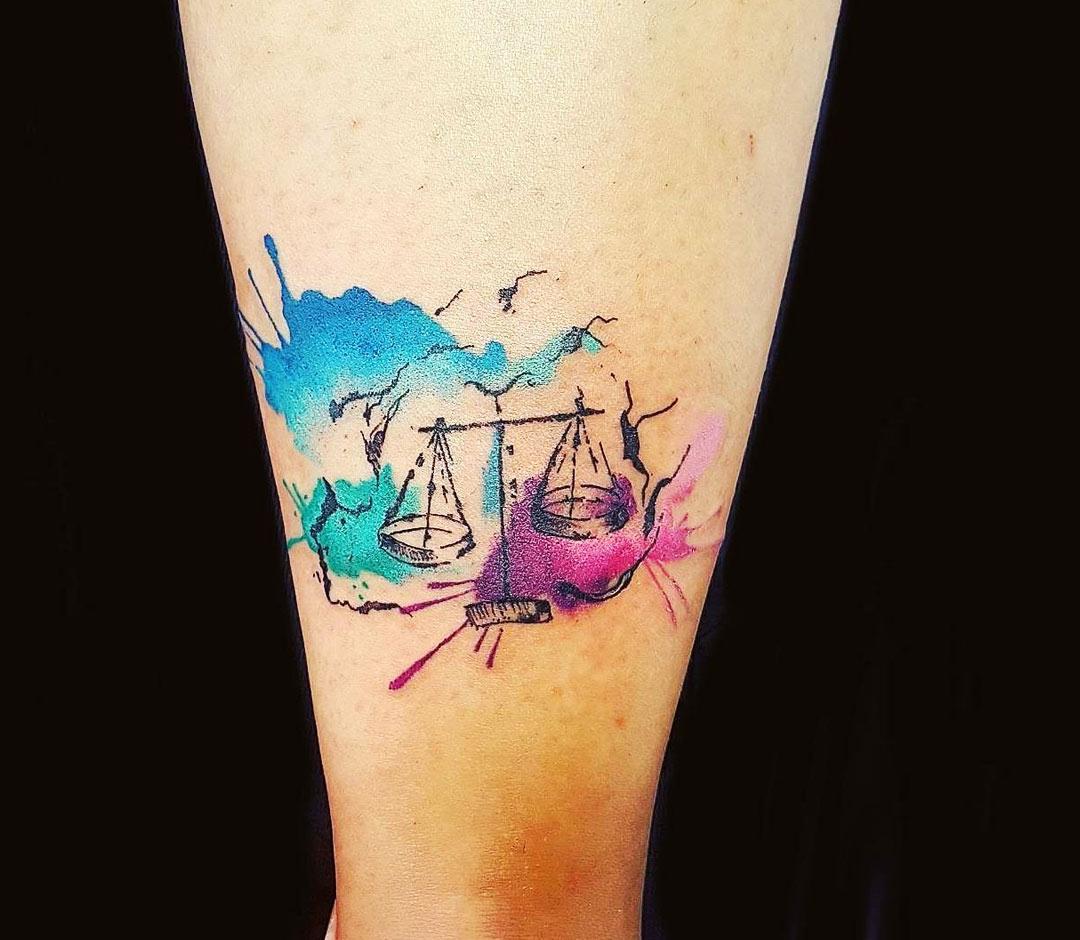 Libra Tattoo By Ilaria Tattoo Art Photo 20698