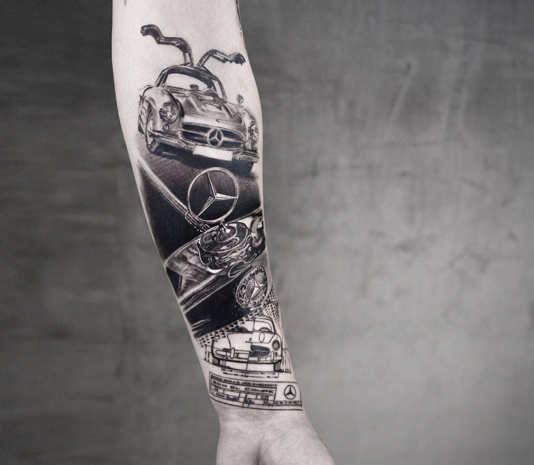 Mercedes Tattoo