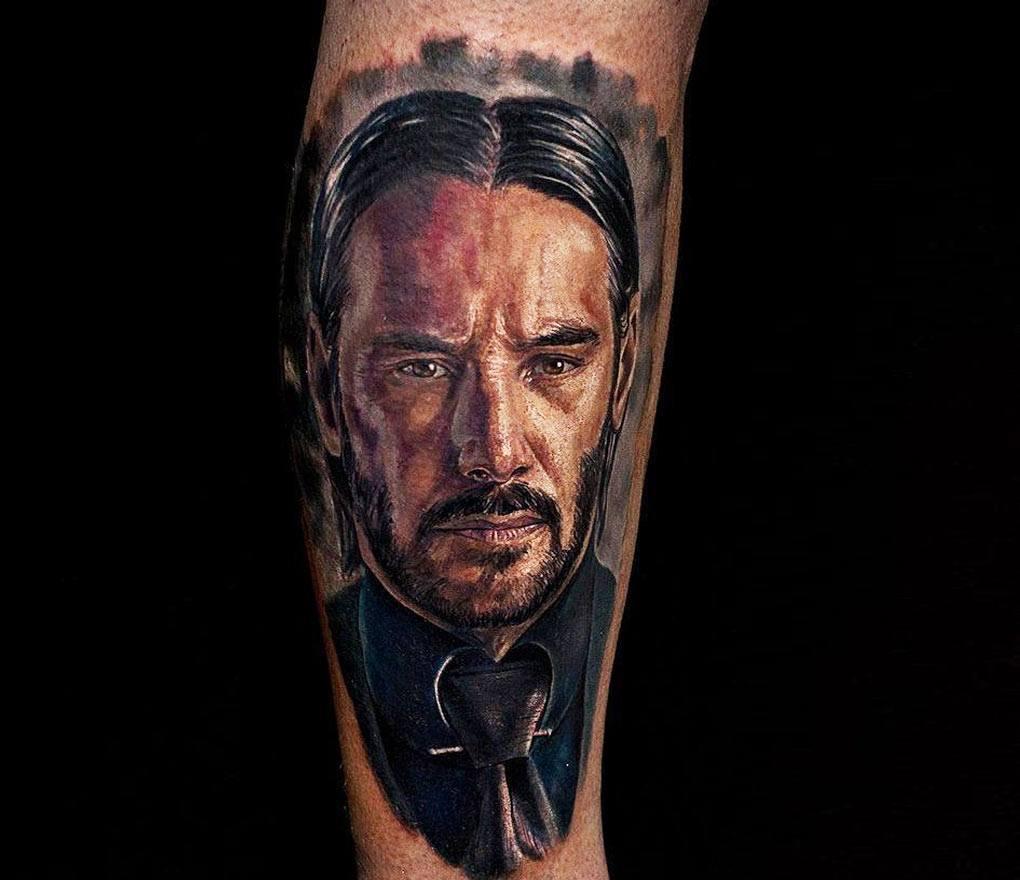Tatuajes De John Wick: Tatuajes John Wick 3 • Lostatuajes.co