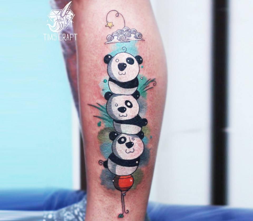 Panda Tree Tattoo By Tymur Denysenko Photo 17036 Cartoon tree transparent images (6,688). panda tree tattoo by tymur denysenko