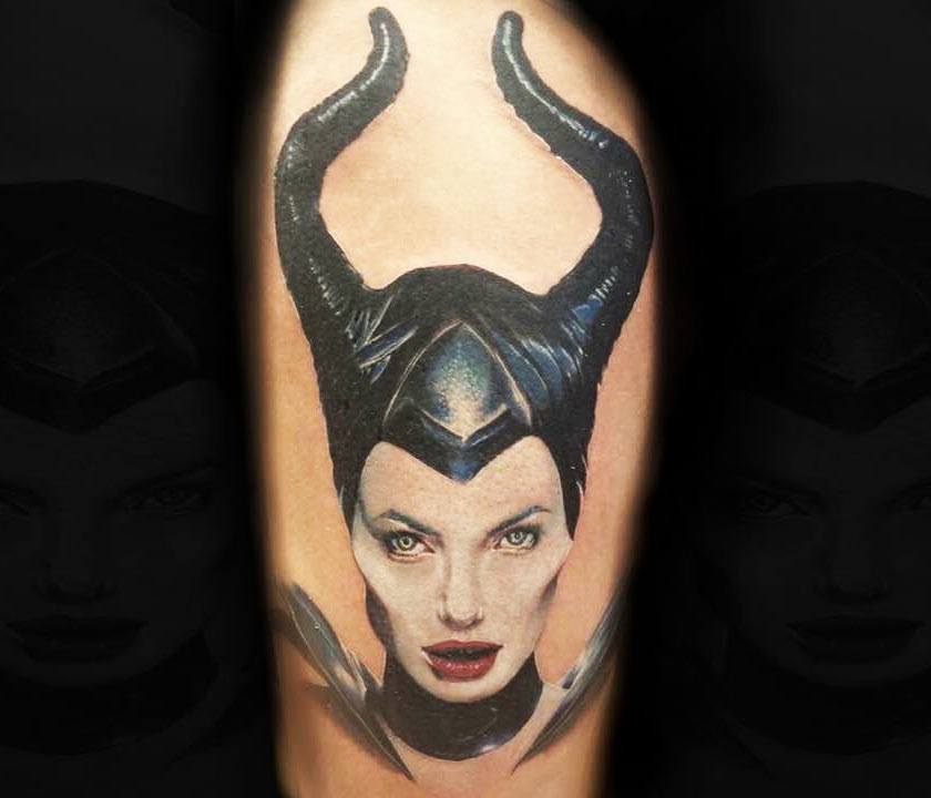 Maleficent Tattoo By Vacsi Levente Photo 23926